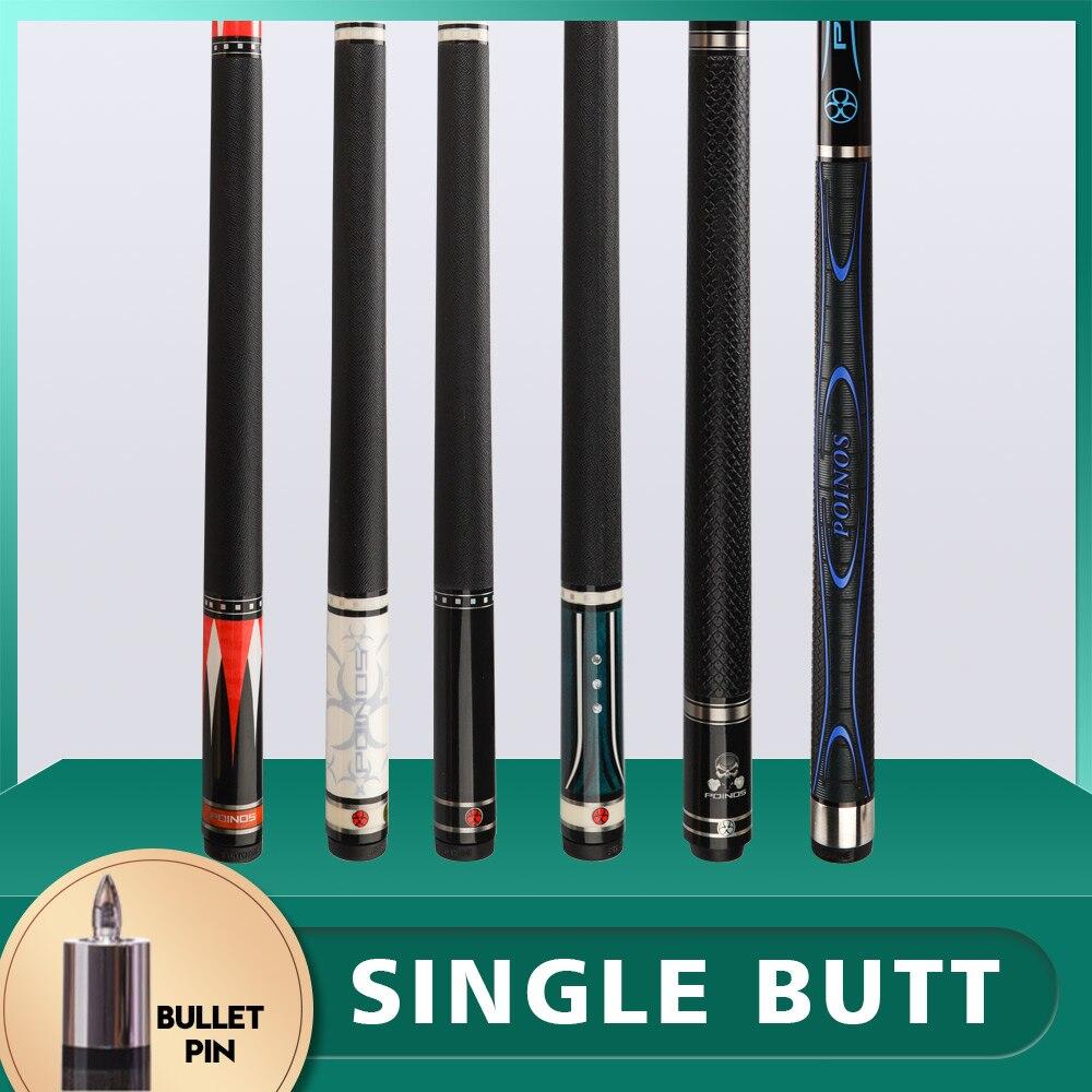 POINOS PREOAIDR 3142 Z2 Single Butt Fit Bullet Pin Joint Billiard Pool Cue Stick Cue Kit Billar Cue Kit Nine Ball Black 8 China