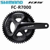 Shimano 105 r7000 hollowtech ii plats y bielas (11 velocidad) discos e bielos fc manivela rueda de cadena 2x11 velocidad 22 1|Correia da bicicleta| |  -