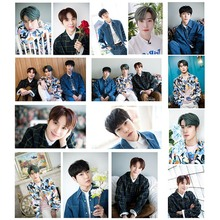 15Pcs/Set High Quality Kpop NCT 127 New Album NEO ZONE- NCT 127 Crystal Card Sticker Photo Sticky Card Photocard Sticker 18pcs set kpop mamamoo reality in black album melting photo version for student card bus pvc crystal card