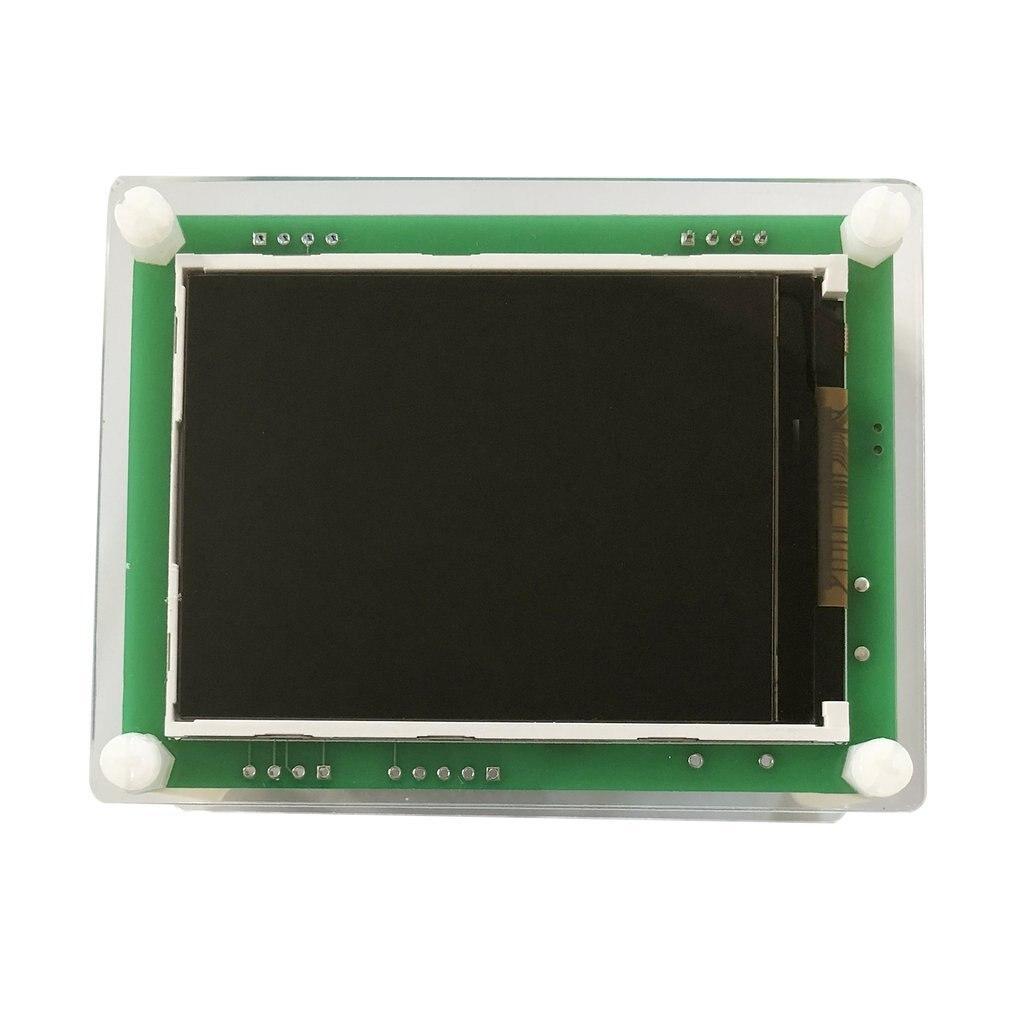 Домашний автомобильный детектор качества воздуха PM2.5, 2,8 дюймовый TFT экран, цифровой измеритель содержания частиц воздуха, тестер AQI