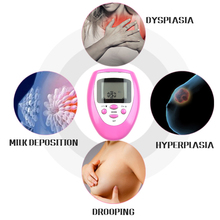 Electronic Breast Enhancer Bust Enlargement Growth Muscle Stimulator Pulse Massager Chest Massage Enlarger Beautiful Chest women chest massager electric enlarger breast enhancer vibration stimulator acupressure massage breast massager