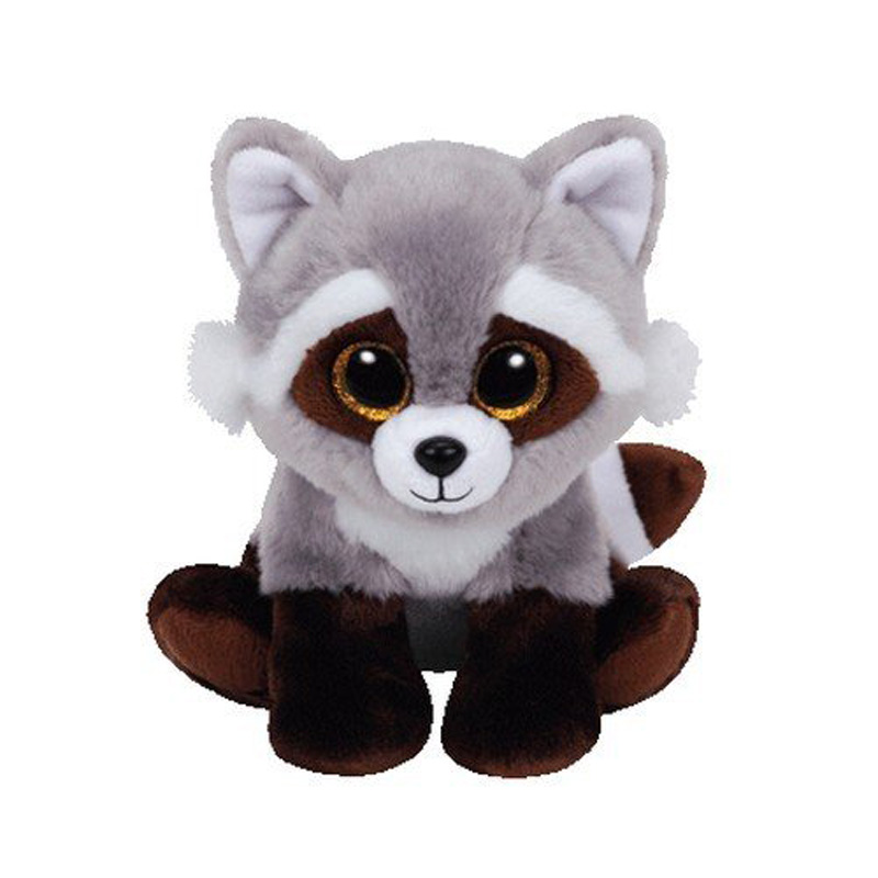 Ty Bandit The Raccoon Plush Animal Toys Stuffed Doll Gift 15cm