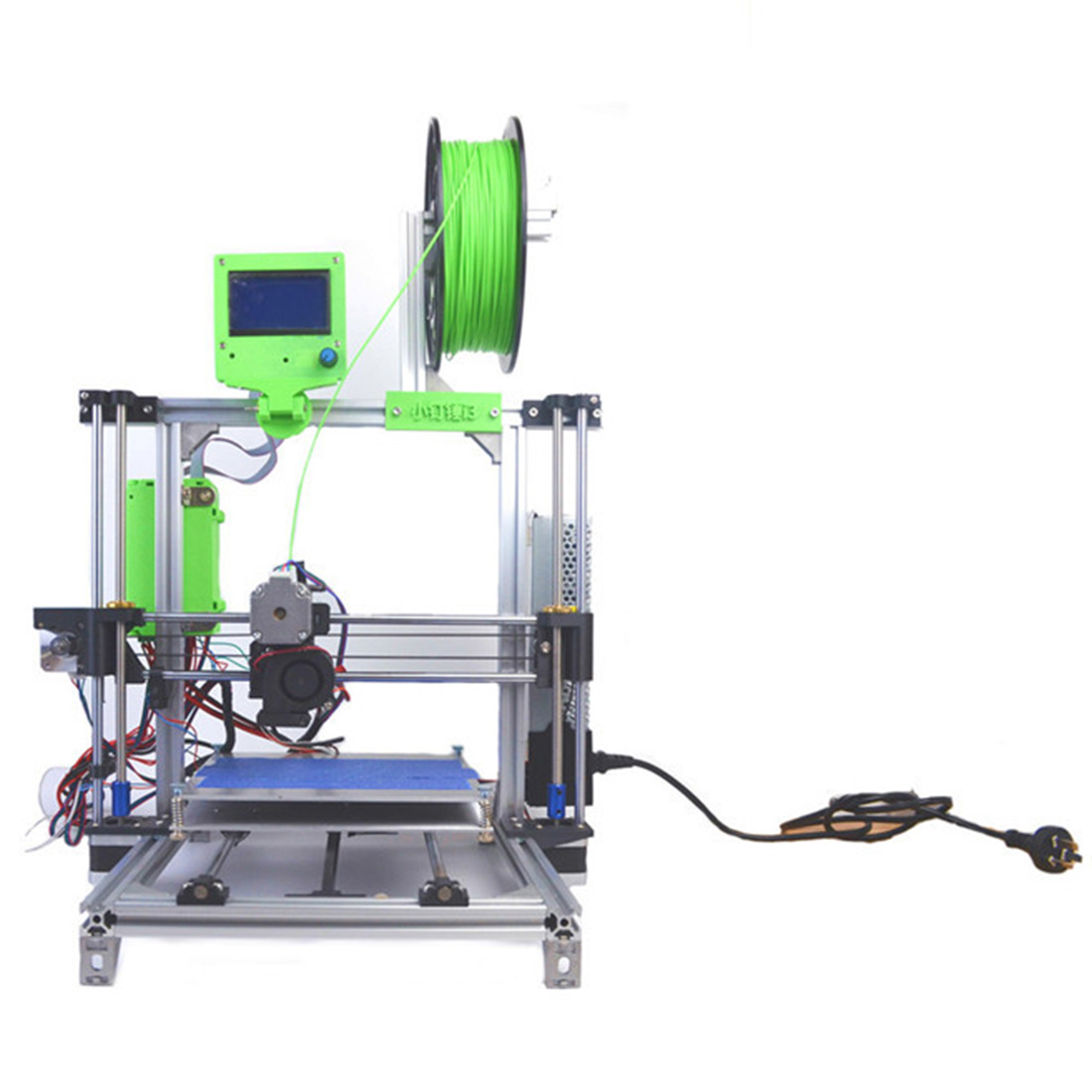 Children Adult DIY 3D Printer Upgraded Robot Aluminum Frame Printing Kit (With Installation Instructions)