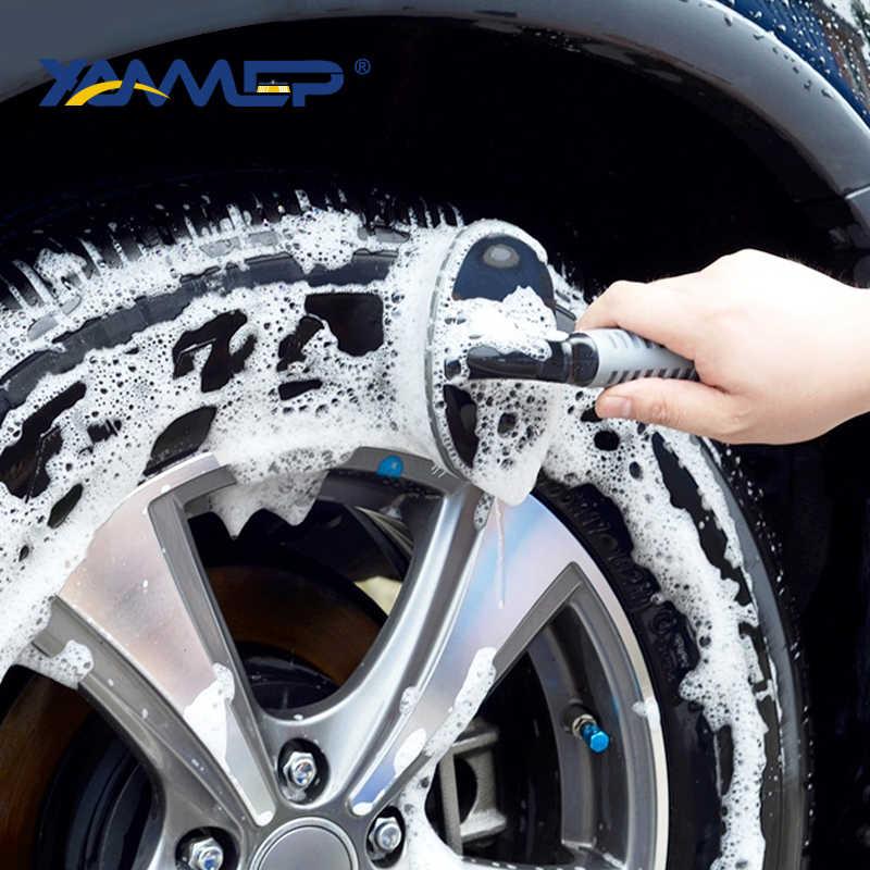 רכב לשטוף מברשת צמיג מברשת רכב ניקוי KitCar ניקוי כלי גלגל צמיג שפה לשפשף מברשת כביסה כלי רכב אביזרי Xammep