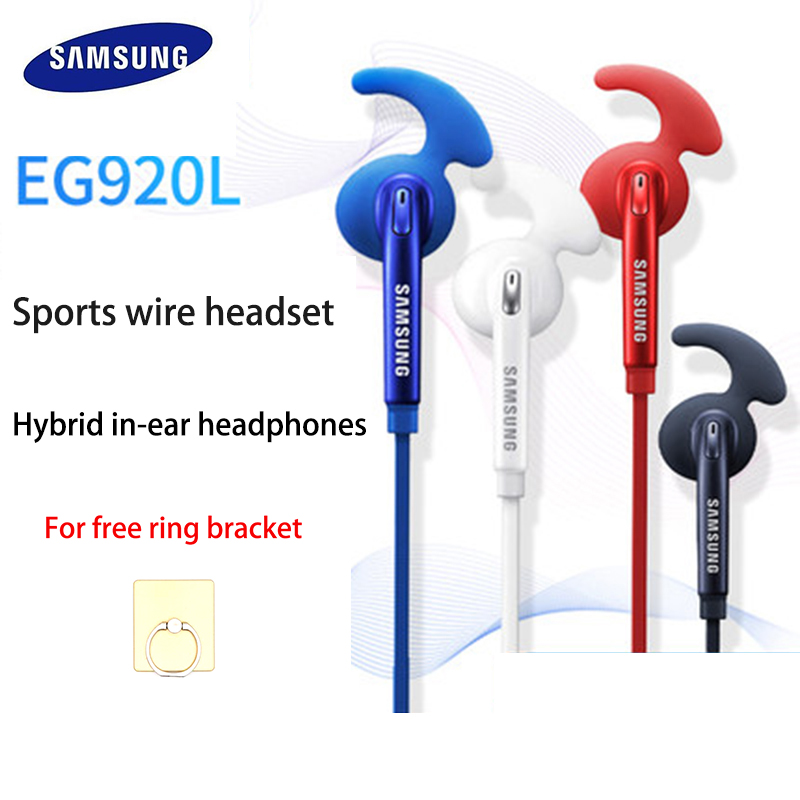 Samsung 3.5mm Wired Headphones With Mic Control Earphone Stereo Sport For Samsung Galaxy S6 S7 Edge S8 S9 S10 E PLUS For Xiaomi