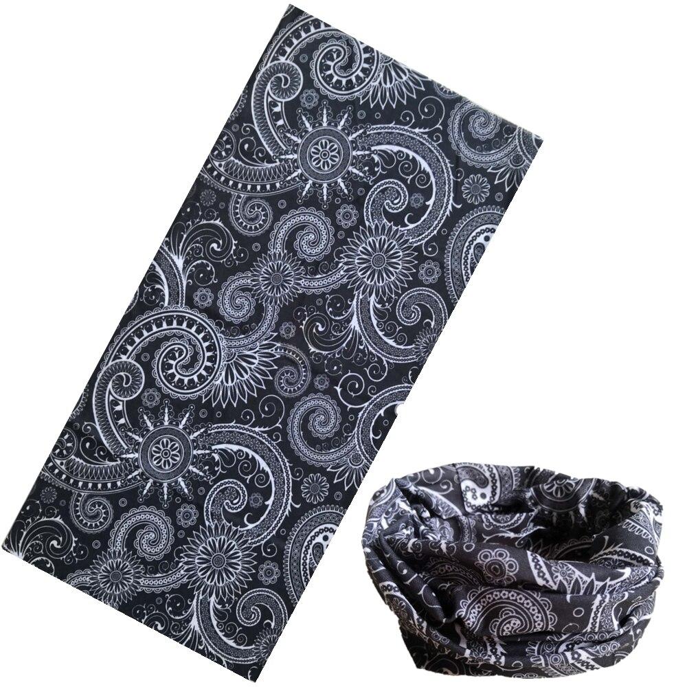 1050-1100 Fashion Bufanda Tubular Hijab Camo Bandana Scarf Seamless Neck Tube Bandana Standard Size 48*25cm Men Bandana