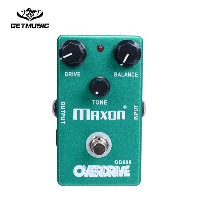 OD808 Overdrive Maxon pédale d'effet guitare véritable contournement