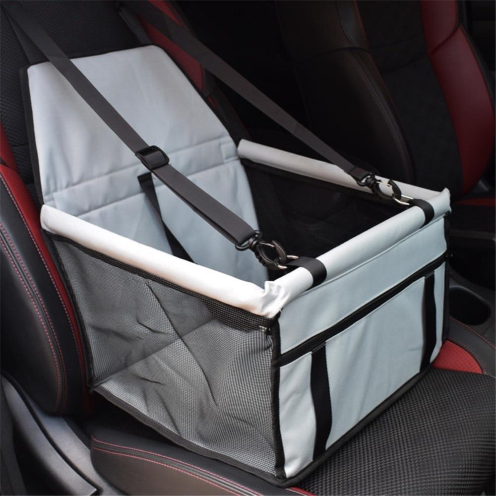 Folding Pet Dog Carrier Pad Waterproof Dog Cat Seat Bag Basket Pet Products Safe Carry House Cat Puppy Bag Dog Car Seat 3