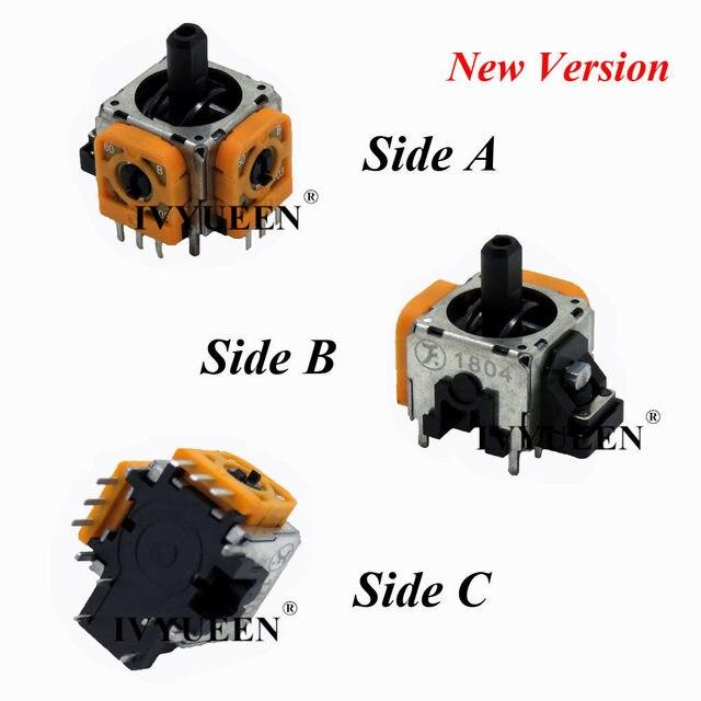 IVYUEEN 3D Analog Joystick Sensor Module Potentiometer & Thumb Stick for Sony PlayStation 4 PS4 Pro Slim Controller Repair Parts 4