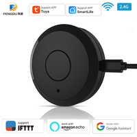 Tuya Wifi control remoto inteligente por infrarrojos controlador Compatible con Alexa Google casa inteligente aire acondicionado TV Fan STB productos infrarrojos