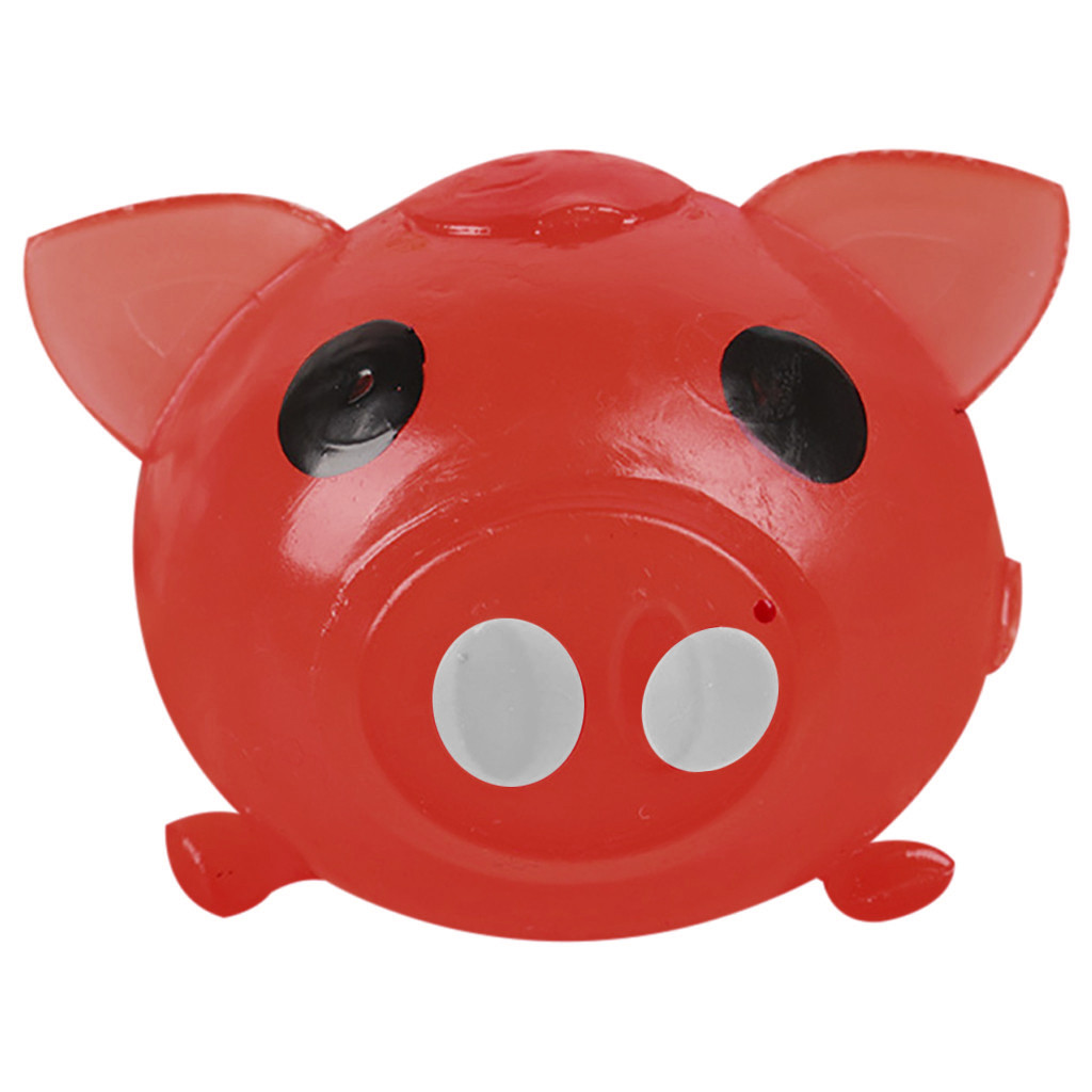 Squishy Gigante 1Pc Jello Pig Cute Anti Stress Splat Water Pig Ball Vent Toy Venting Sticky Pig Squishy Kawaii