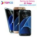Samsung Galaxy S7 edge G935T/A/V/P Версия США, разблокированный LTE Android мобильный телефон, четырёхъядерный, экран 5,5 дюйма, 12 МП и 5 МП, 4 Гб ОЗУ 32 Гб ПЗУ, NFC