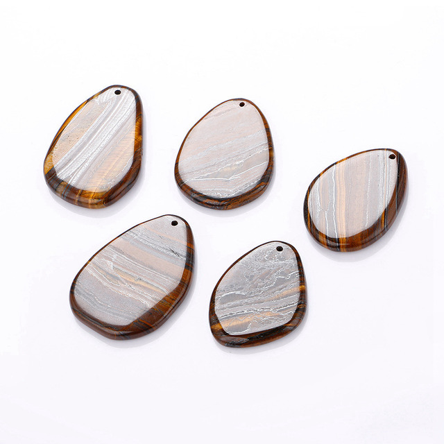 1 шт Подвески с натуральным камнем и тигровым глазом женское