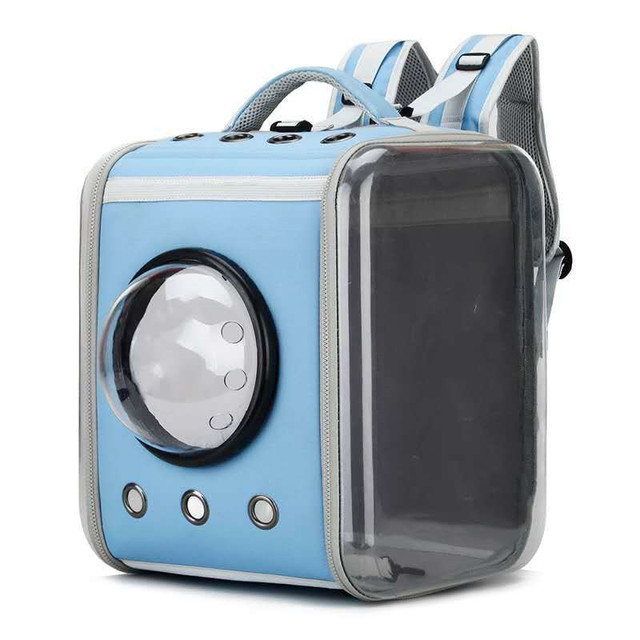 Cat Carrier Backpack Breathable Pet Travel Kennel 6