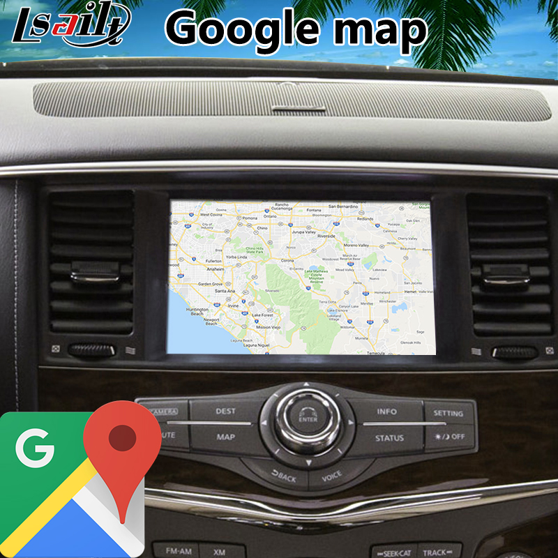 Android 6.0 Video Interface für Nissan Patrol y62 Armada 2012-2017 jahr, gebaut in WIFI Bluetooth Mirrorlink und GPS-Navigation