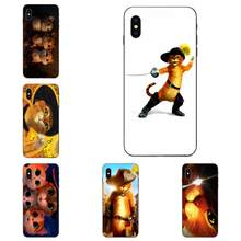 Shrek Puss In Boots TPU Hot Selling Voor Galaxy C5 C7 J1 J2 J3 J330 J5 J6 J7 J730 M20 m30 Ace Core Max Mini Plus Prime Pro(China)