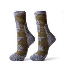 Skiing-Socks Non-Slip Snowboard Mountaineering Outdoor Winter Sports Warm Soft Home 1-Pair