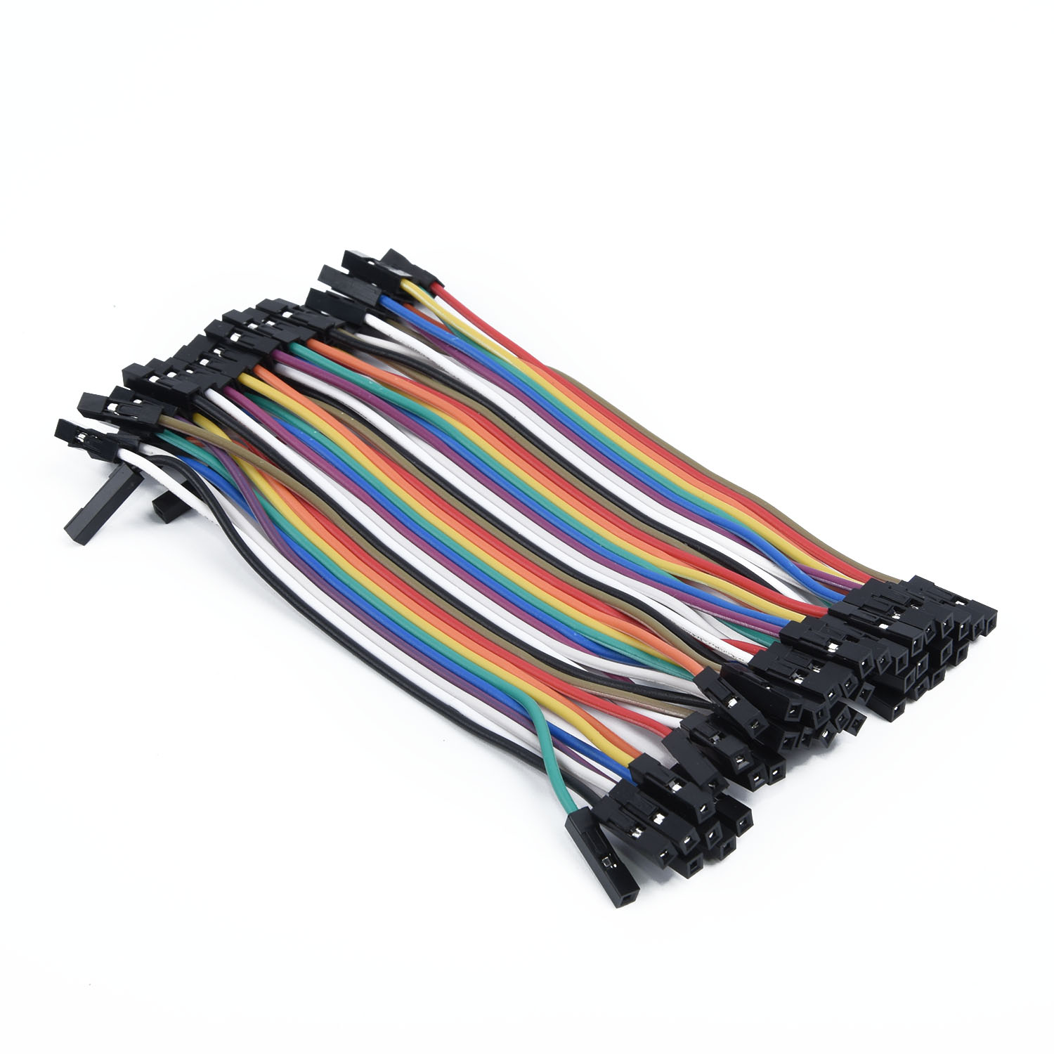 Set Of 120x Male To Female 11cm Dupont Wire Jumper Cable For Arduino Breadboard