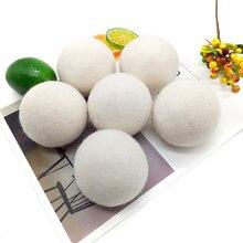Шарики для сушки шерсти 5 шт/компл натуральное шерстяное белье