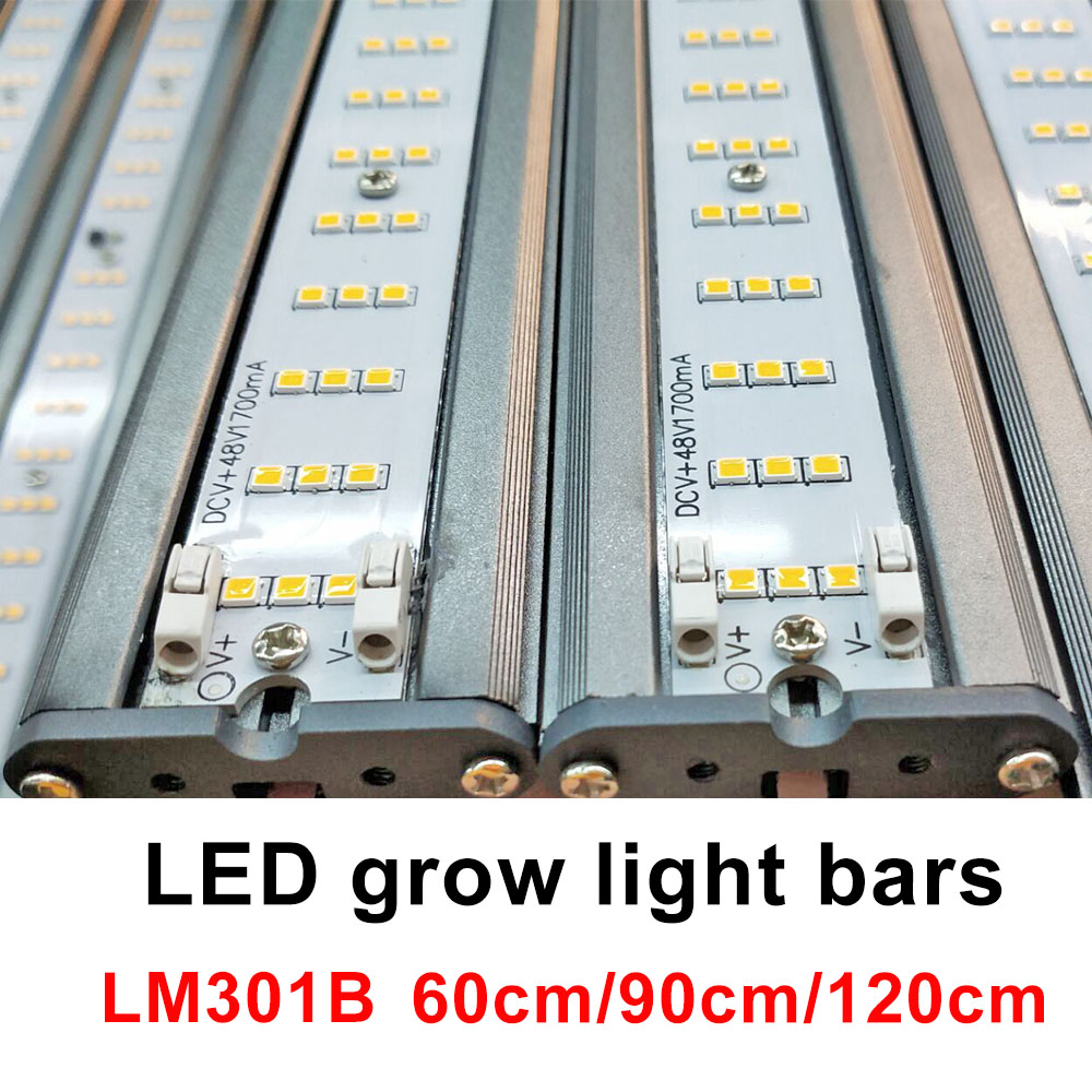 80W Full Spectrum High PPFD Samsung Quantum Board Led Grow Light Bar For Greenhouse Plants