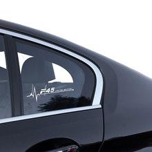 Окна автомобиля стикер м производительность двери сторона тела наклейка для BMW F01 в Ф07 Ф10 Ф15 ф16 Ф20 ф30 F25 привод датчика F45 вертолет F46 F48 F82 F87 аксессуары