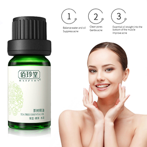 1 Pcs Pure Tea Tree Essential Oil Acne Treatment Blackheads Shrink Pores Moisturizing Facial Massage Oil To Remove Melasma TSLM1