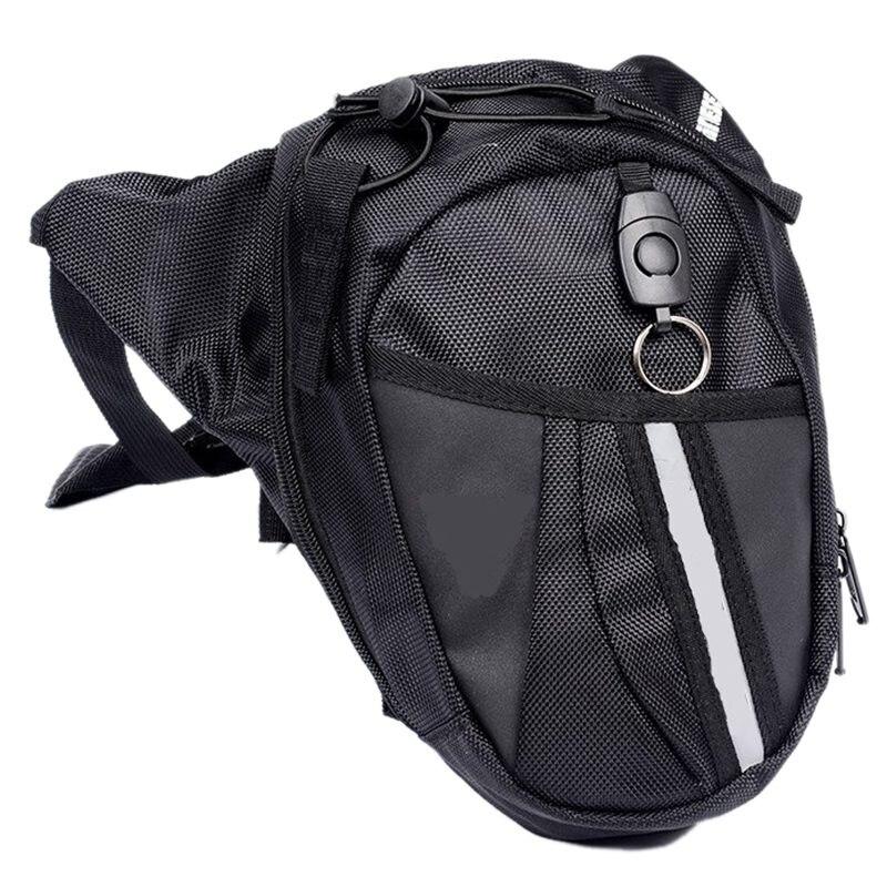 New Motorcycle Scooter Drop Leg Waist Bag Pack