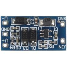 Calidad 1 Uds. Módulo de fuente de alimentación de metal azul 2,8 V ~ 5,5 V entrada positiva y negativa 12V salida 5V a 12V DC módulo de conversión