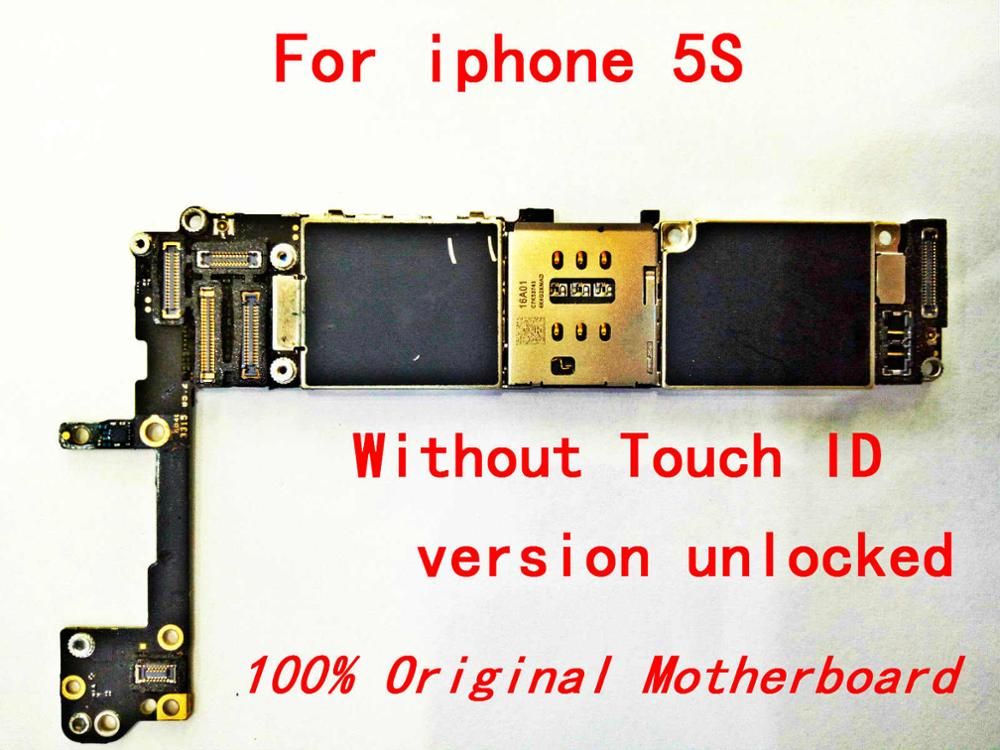 Tool Mainboard iPhone 16GB for 5S Apple ID And Unlocked The Without-Touch For100%Original title=