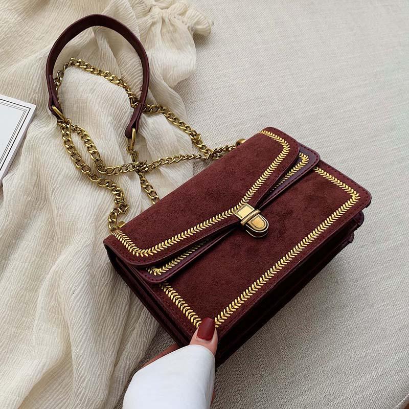 WENYUJH Rivet Chain Small Crossbody Bags For Women 2019 Fashion Shoulder Messenger Bag Lady Luxury Handbags And Purses