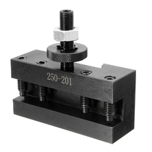 10 15Inch Bxa Quick Change CNC Lathe Tool Post Turning Facing Holder 250 201 Holder For Lathes Tool for Industury Machine Holder