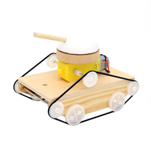 Toys Cars Kids Children Diy for Gifts Model-Kits Assemble-Tank Puzzle Science-Invention
