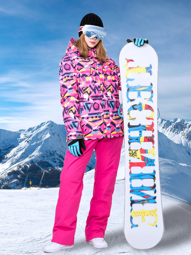 Winter Suit Ski Suits Waterproof Winter Sport Suit Women Snow Jackets Ski Pants Ski Suit Women Snowboard Set Female Snowboard