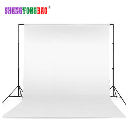 White color thicken Photographic background cloth Non-Glare Certificates clothing portrait photogrpahy Non-Woven fabric #1001 image