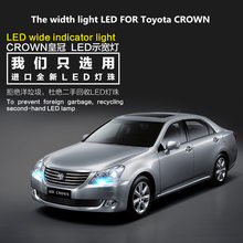 The width light LED FOR Toyota CROWN T10 5000K front small bulb contour car modification