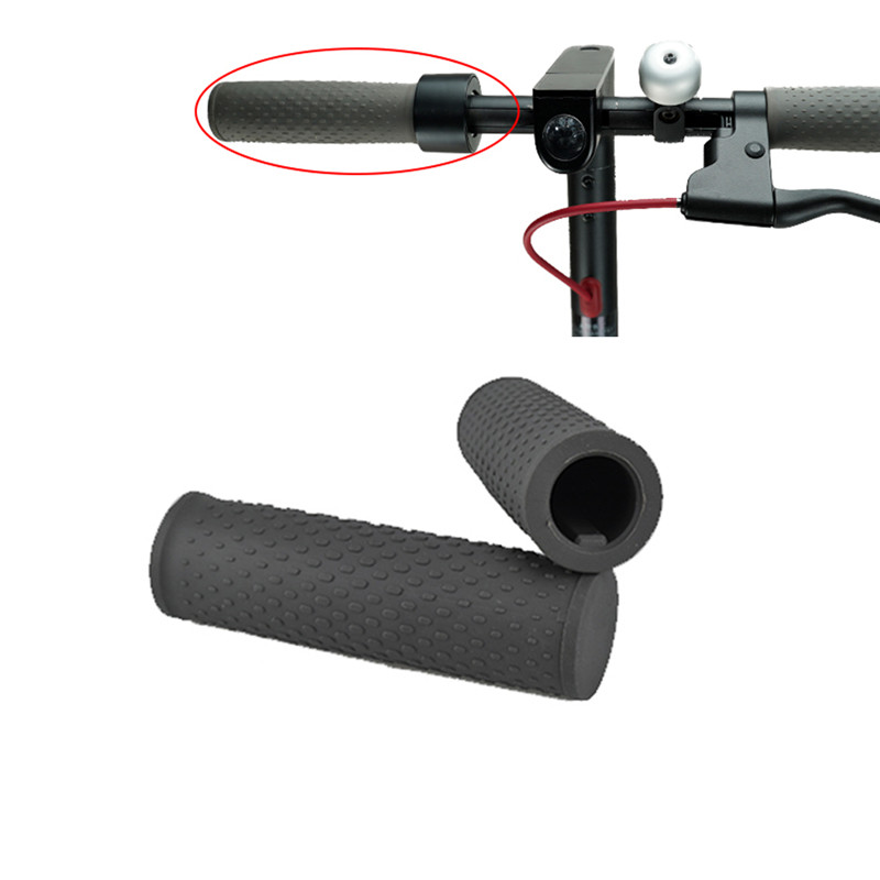 1 Pair Millet Scooter Handlebar Cover Silicone Handle Bar Grip Protection Handgrip Sleeves Replacement Xiaomi Anti-Slip Scooter