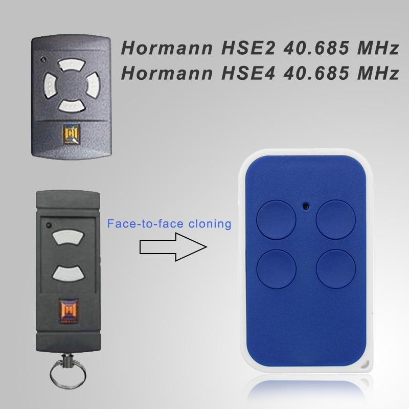 Hormann 40 HSE2 40.685 MHz MHz Clone Fob Substituição da porta da garagem Controle Remoto 40.685 MHz