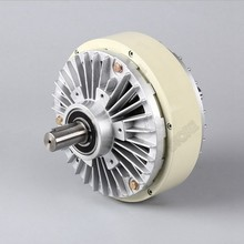25 нм 2,5 кг DC 24 В двойной вал 2 оси магнитный порошок сцепления обмотки тормоза для натяжения мешок управления с рисунком машины