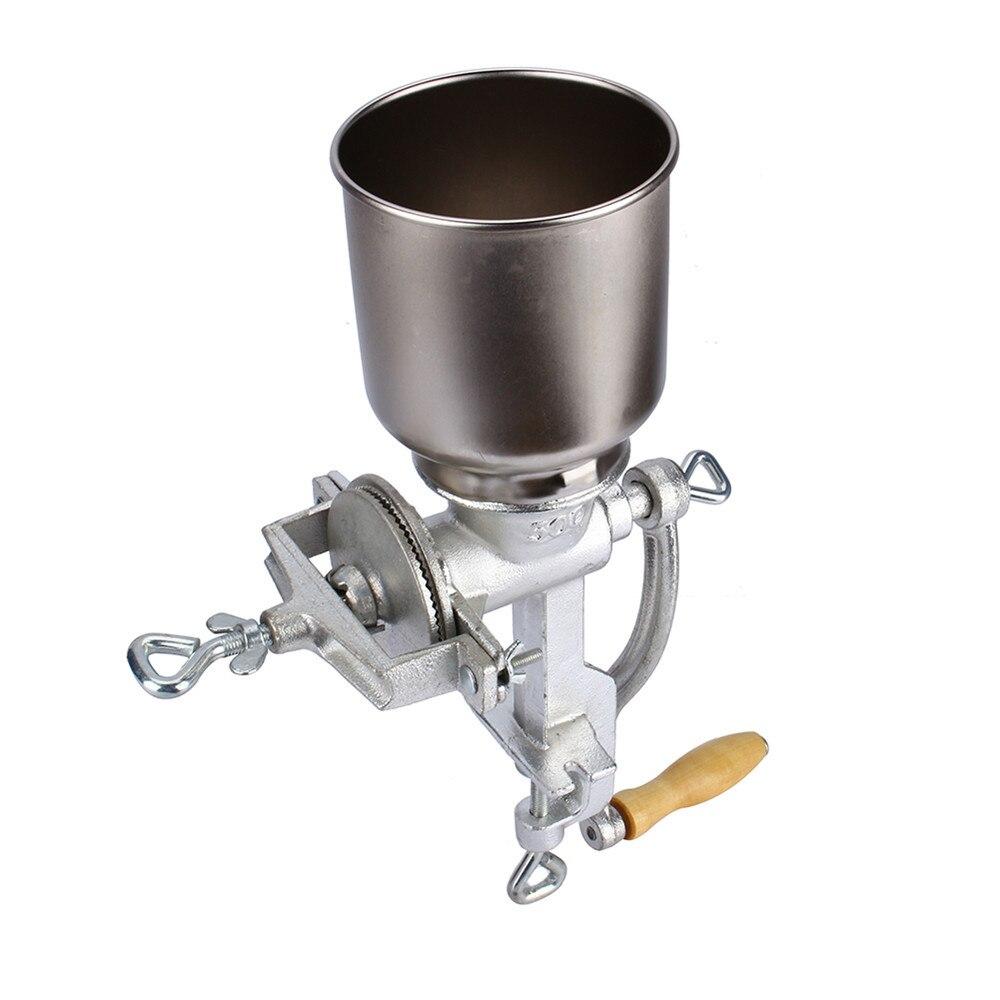 Spice Grinders Manual Grain Grinder Table Clamp Corn Mill Flour ...