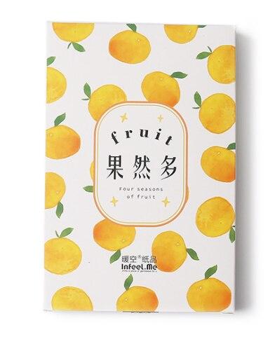 14.3cm*9.3cm Many Fruits Paper Postcard(1pack=30pieces)