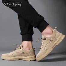 Золотой деревце в ретро стиле для мужчин; Повседневная обувь