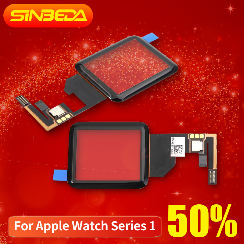 Sinbeda AAA+ Touch For Apple Watch Series 1 38mm 42mm Touch Screen Panel Glass Digitizer For Apple Watch 7000 Touch Screen
