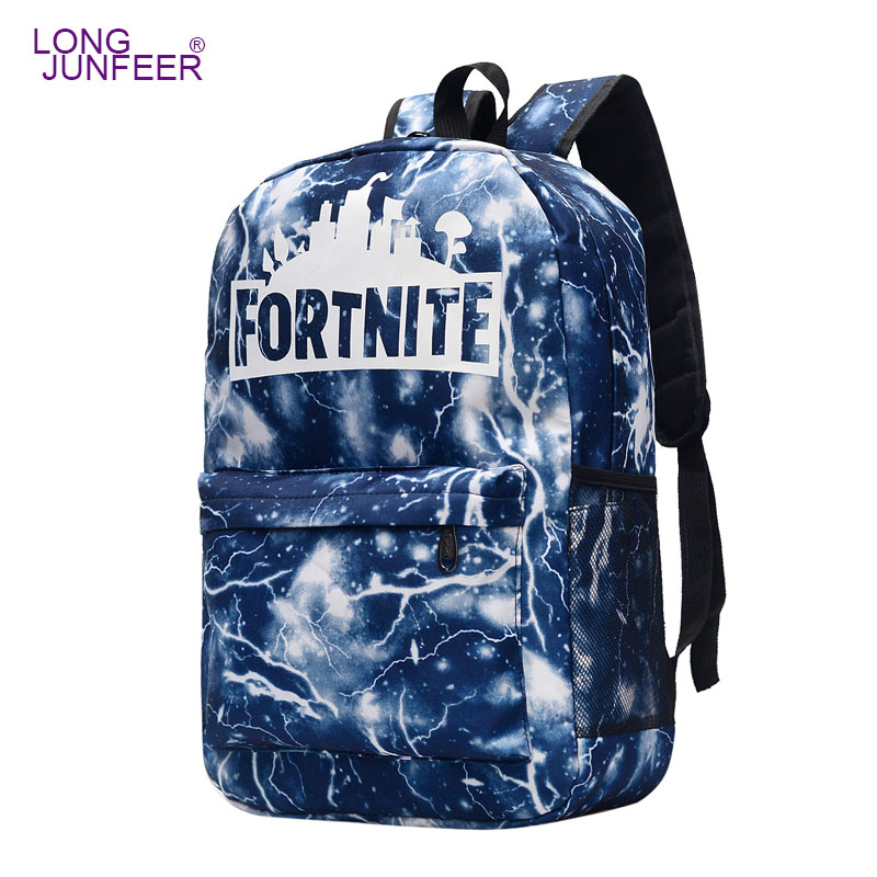 Brand Direct Selling Cool Night Light Spoof School Bag Men And Women Backpack Online Games-Backpack High Junior High Sch ZL171