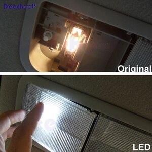 Image 4 - 11 adet araba LED ampuller VW Scirocco için, beyaz iç aydınlatma ampul Volkswagen Scirocco için kubbe ışık