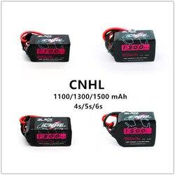 CNHL China HobbyLine Black Series 1100/1300/1550 мАч, литий-полимерная батарея, 14,8 в, 22,2 в, FPV Racing Drone