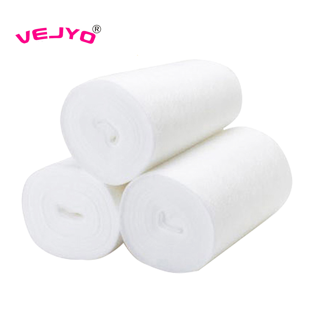 100Sheets//1Roll For Baby Flushable Disposable Cloth Nappy Diaper Bamboo Liners