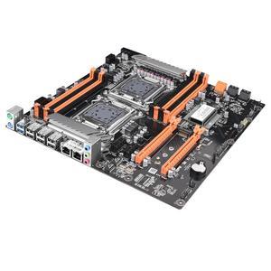 Image 5 - Jingsha X79 デュアルcpuマザーボードLGA2011 SATA3.0 E ATX M.2 DDR3 メインボード