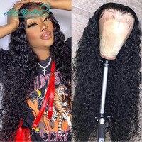 Malaysische Tiefe Welle Haar Perücken Pre-Gezupft 13X4 Spitze Front Menschliches Haar Perücken Natürliche Haar Linie mit Baby Haar ali Gnade Perücken