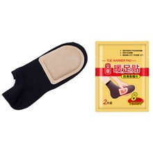 2PCS Self Heating Foot Warmer Winter Warm Paste Pads Portable Household Foot Warmer For Outdoor Warming Products(China)