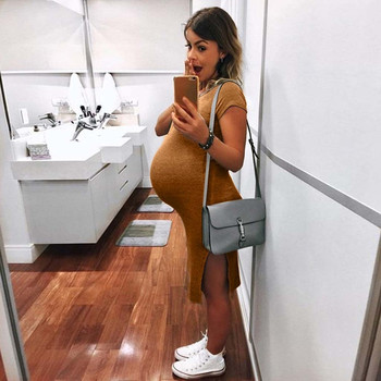 Sexy Maternity Dresses for Women with Short Sleeve 2